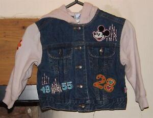 Disney, Girl's blue & pink denim jacket, size XS