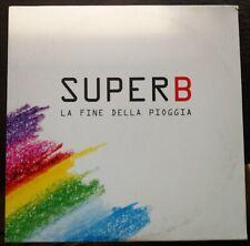 Super B – La Fine Della Pioggia (Radio Edit) Cd Single promo Cardsleeve EX/NM