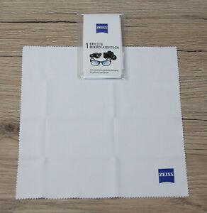 Zeiss Brillen Kamera Mikrofasertuch (20x20cm) Brillenputztuch Brillenreinigung