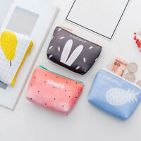 Korean Cute Girls Card Key Mini Purse Pouch Bag Small Zipper Coin Holder Wallet