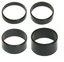 "AIR CLEANER SPACER PLASTIC FITS EDELBROCK HOLLEY RISER 4 piece kit 1/2""-2"""