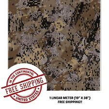 Hydrographic Film Water Transfer Hydro dipping dip 1M Digital Snake Camo Film
