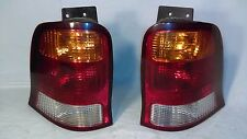Tail Light Set For 99-03 Ford Windstar with Bulbs and Sockets