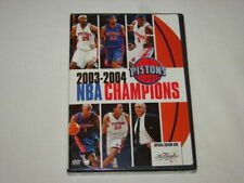 Detroit Pistons 2003-04 NBA Basketball Champions DVD New Sealed Billups Wallace