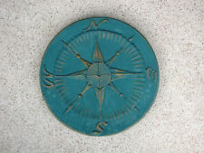 1- 18x2 COMPASS 3-D CONCRETE STEPPING STONE MOLD, MOULD