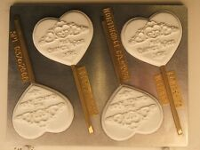 QUINCEANERA HEART CROWN MIS QUINCE ANOS LOLLIPOP DIYCHOCOLATE CANDY MOLD  PARTY