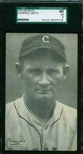 1925 Exhibit Card - Sherrod Smith - Cleveland Indians - SGC 40