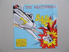 Cover Art : Roy Lichtenstein  / The Weathermen  , Vinyl Maxi 45T Original / Rare