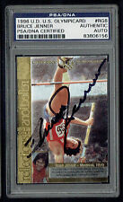 Bruce Jenner #RG6 signed autograph auto 1996 Upper Deck Olympic Card PSA Slabbed