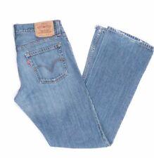 Levi's Levis Jeans 527 W31 L34 blau stonewashed 31/34 Bootcut -JA9349