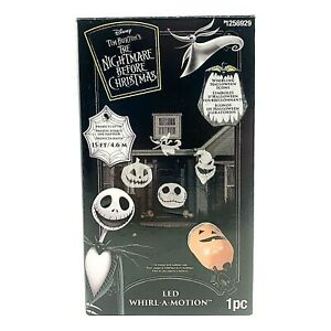 Nightmare Before Christmas Lightshow Jack Skellington Whirl-A-Motion Projector