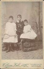 Leyton. Children. Tennis racquet. William Hull. Lea Bridge Road.  JD765