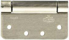 NATIONAL MFG/SPECTRUM BRANDS HHI N350-868 Spring Door Hinge,4-Inch, Satin Nickel