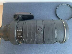 Nikon Lens AF Zoom-NIKKOR 80-200mm f/2.8D ED
