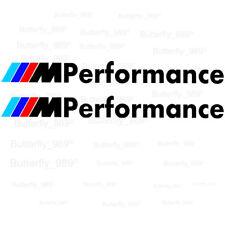 BMW M Performance 2x Aufkleber Seiten Sweller Sticker Performance Door Window
