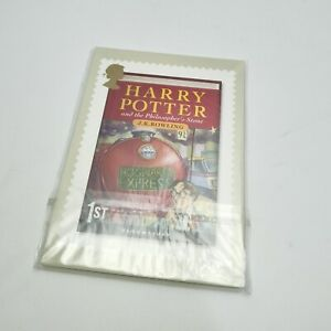 2007 Harry Potter Bloomsbury Royal Mail Stamp Card Series PHQ Cards - Full Set