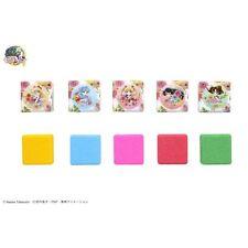 Sailor Moon 5Color Scents Bath Bomb Cube Set Box Great Gift Cute BANDAI