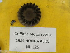 84 HONDA NH 125 AERO 1984 AERO125 scooter moped FLYWHEEL MAGNETO COOLING FAN