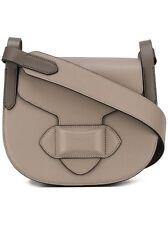 NWT MSRP $790 Michael Kors COLLECTION DARIA French Calf Leather Saddle Handbag