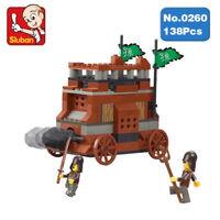 Sluban B0260 Ancien Chariot des Chevaliers Jeux de Construction Compatibles Lego