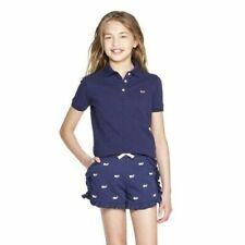 Vineyard Vines for Target Girls Navy Blue Polo Shirt Size Xs 4/5 New