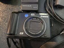 Canon PowerShot G9 PC1250 12.1MP LCD Digital Video Camera W/Huge Accessories Lot