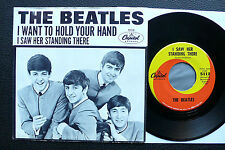 "7"" The Beatles - I Saw Her Standing There - US Capitol w/ Pic"