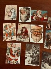CHRISTMAS SANTA CLAUS POST CARDS  S1 WITH VINTAGE STYLE IMAGES*25*PLUS ENVELOPES