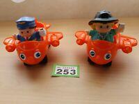 Mattel Little People Airplane Vintage 2001 Orange