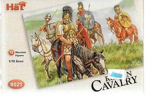 HAT Roman Cavalry, 12 Mounted Figures in 1/72 8021 ST