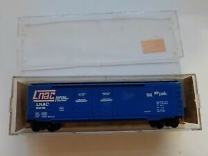 N Scale Kadee Micro-Trains 36050 LNAC 5015 Blue 50' Box Car