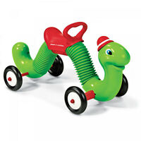 Indoor Outdoor Classic Bounce and Go Ride-on Inchworm Kids Playing Toddler Toy