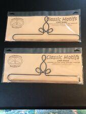 Ackfeld Manufacturing Classic Motifs Craft Holder 12 Inch (2 Hangers!)
