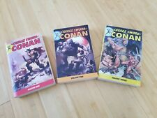 The Savage Sword Of Conan TPB LOT 1-3 Dark Horse Comics, First Ed, 2007-2008