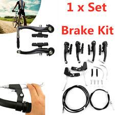 Universal Road Bike V Brake Handlebar Set Front/Rear Mountain Bicycle Alloy