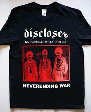 DISCLOSE - Neverending War red T-Shirt Discharge Frigora D-Clone Framtid