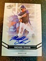 MICHAEL CHAVIS Leaf Draft Autograph Rookie Auto  gem mint compare bowman chrome