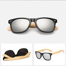 Sommermode Bambus Sonnenbrille Holz Herren Damen Retro Vintage Brillen