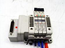 Lot of 3 SMC VQ1A01N-5, VQC1101N-5 Solenoid Valves