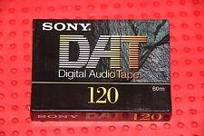 DAT  SONY     120    DIGITAL AUDIO TAPE (1) (SEALED)