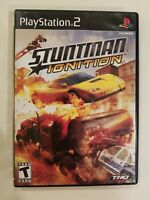 PLAYSTATION 2 PS2 COMPLETE STUNTMAN IGNITION COMPLETE TESTED FREE S/H