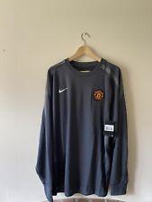 Manchester United Long Sleeve nike Football Leisure Shirt BNWT XXL