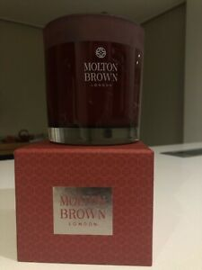 Large glass Candle Jar by Molton Brown + complimentary parfum