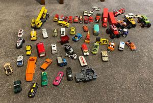Various Matchbox and Hotwheels Cars / Trucks