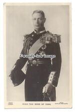 r1996 - Duke of York who became King George VI in uniform - postcard