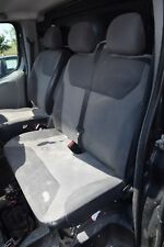 2008 RENAULT TRAFIC 2.0 DCI  PASSENGER SIDE DOUBLE BENCH SEATS WITH BELTS