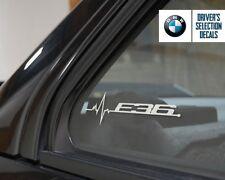 BMW E36 Is In My Blood Fenster Aufkleber Grafik