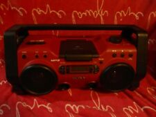 Sony ZS-H10CP Heavy Duty Aux MP3 CD Radio Mega Bass Audio System AS IS