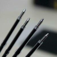 100X Kugelschreibermine Ersatz Blau Schulbüro Schreibwaren Sale