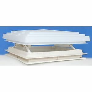 Roof Vent Sky Light Caravan Motorhome 280 x 280mm Flynet White MPK Rooflight